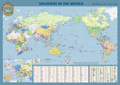 Salesian World Map